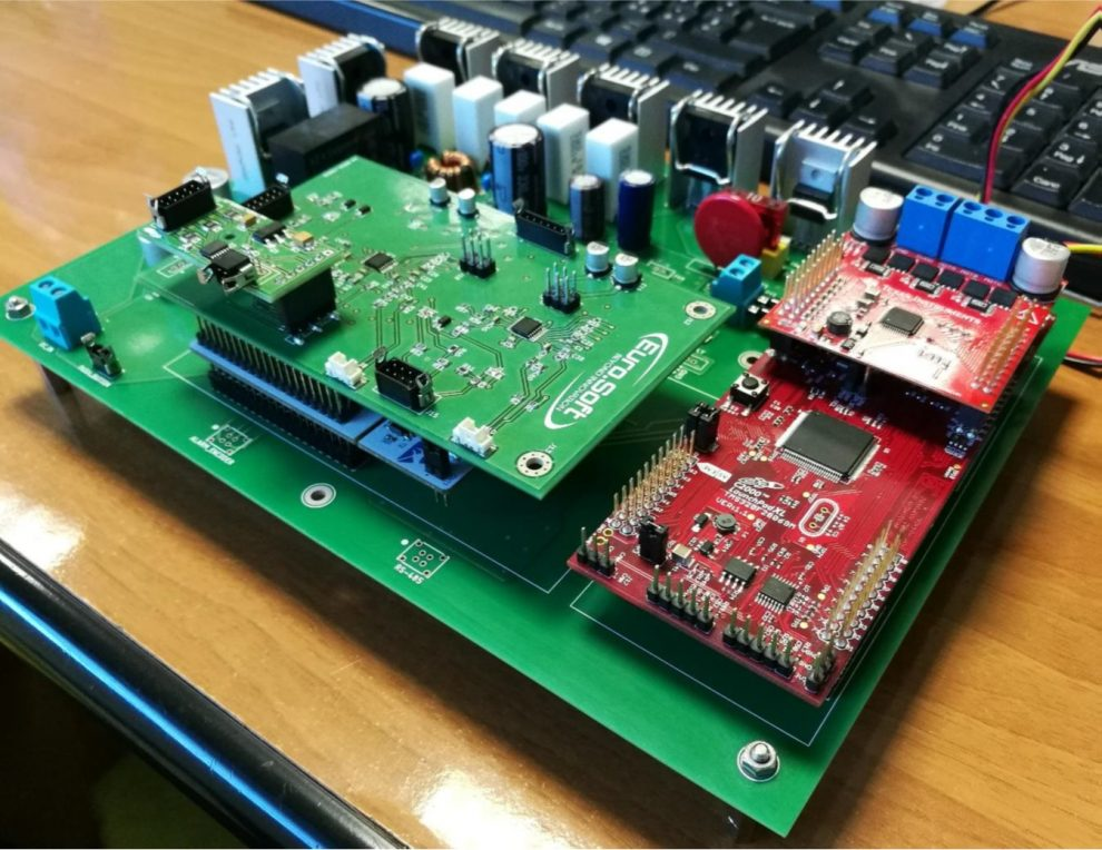 electronic board for flight applications